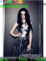 Elizabeth Gillies Theme-Screenshot