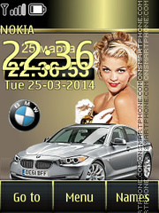 BMW 16 theme screenshot