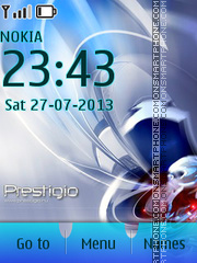 Prestigio Tablet tema screenshot