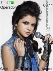 Selena Gomez Theme-Screenshot