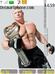 WWE Brock Lesnar theme screenshot