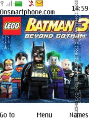 LEGO Batman 3 theme screenshot