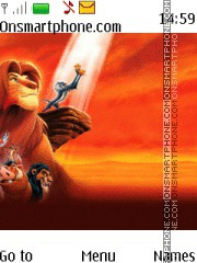 Lion King theme screenshot