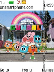 Gumball theme screenshot