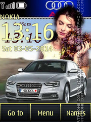 Audi S5 06 theme screenshot