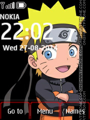 Naruto Icons theme screenshot