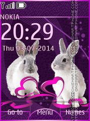 Rabbits 03 Theme-Screenshot