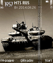 T-90 tema screenshot