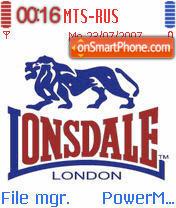 Lonsdale es el tema de pantalla