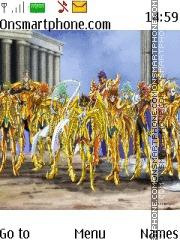 Saint Seiya Omega theme screenshot