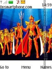 Saint Seiya Poseidon theme screenshot