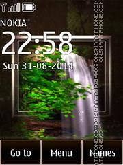 Скриншот темы Waterfall 07