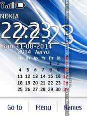 Скриншот темы Abstract Calendar