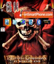 Piraty Karibskogo Morja Theme-Screenshot