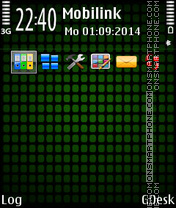 Green dots theme screenshot