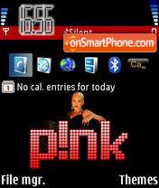 Скриншот темы Pink 02