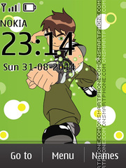 Ben 10 04 theme screenshot