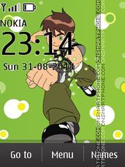 Ben 10 04 tema screenshot