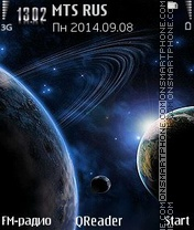 Planet theme screenshot