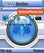 Scorpio QVGA theme screenshot