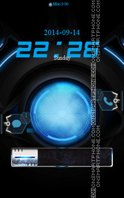 Locker Theme33 theme screenshot