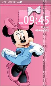 Minnie Mouse 10 tema screenshot