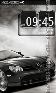 Mercedes 3265 theme screenshot