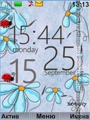 Tenderness flowers tema screenshot
