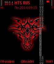 Red-Symbol es el tema de pantalla