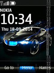 BMW SUV Concept Car theme screenshot