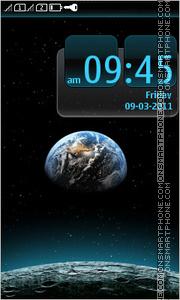 Скриншот темы Space Planet