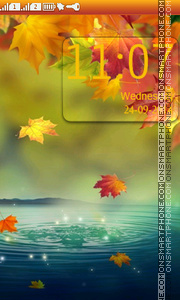 Autumn theme screenshot