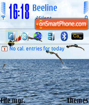 Sea Life 01 theme screenshot