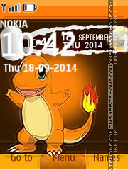 Charmander theme screenshot