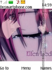 Elfen Lied Lucy theme screenshot