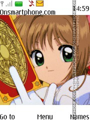 Sakura Card Captor Theme-Screenshot