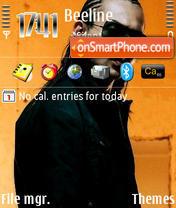 Скриншот темы Sean Paul 01