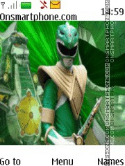 Power Rangers tema screenshot