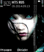 Capture d'écran Vamp Eyes thème