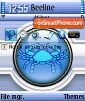Cancer QVGA theme screenshot