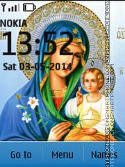 Orthodox Icon tema screenshot