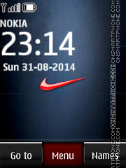 Nike Logo 04 tema screenshot