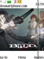 Capture d'écran Blood Plus thème