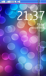 Colorful Circles theme screenshot