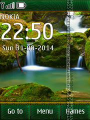 Waterfall 08 theme screenshot