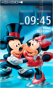 Mickey and Minnie 03 tema screenshot