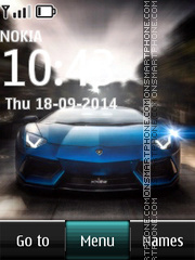 Lamborghini Aventador LP 700-4 Theme-Screenshot