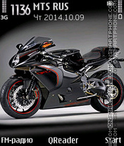 MV Agusta theme screenshot
