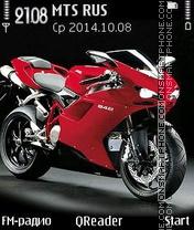 Скриншот темы Ducati