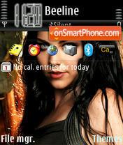Evanescence 01 theme screenshot